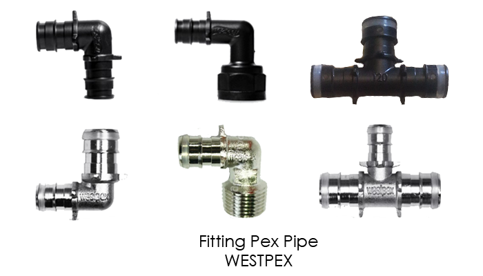 how to connect pex pipe to fittings